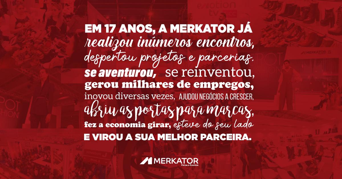 17 anos de Merkator, 17 anos de parceria