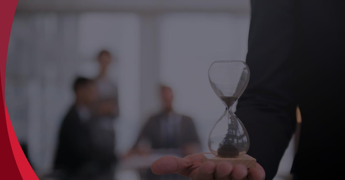 Timing para saber o momento certo, flexibilidade para repensar a estratégia da empresa